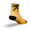 SockGuy Lion of Flanders Bike Socks