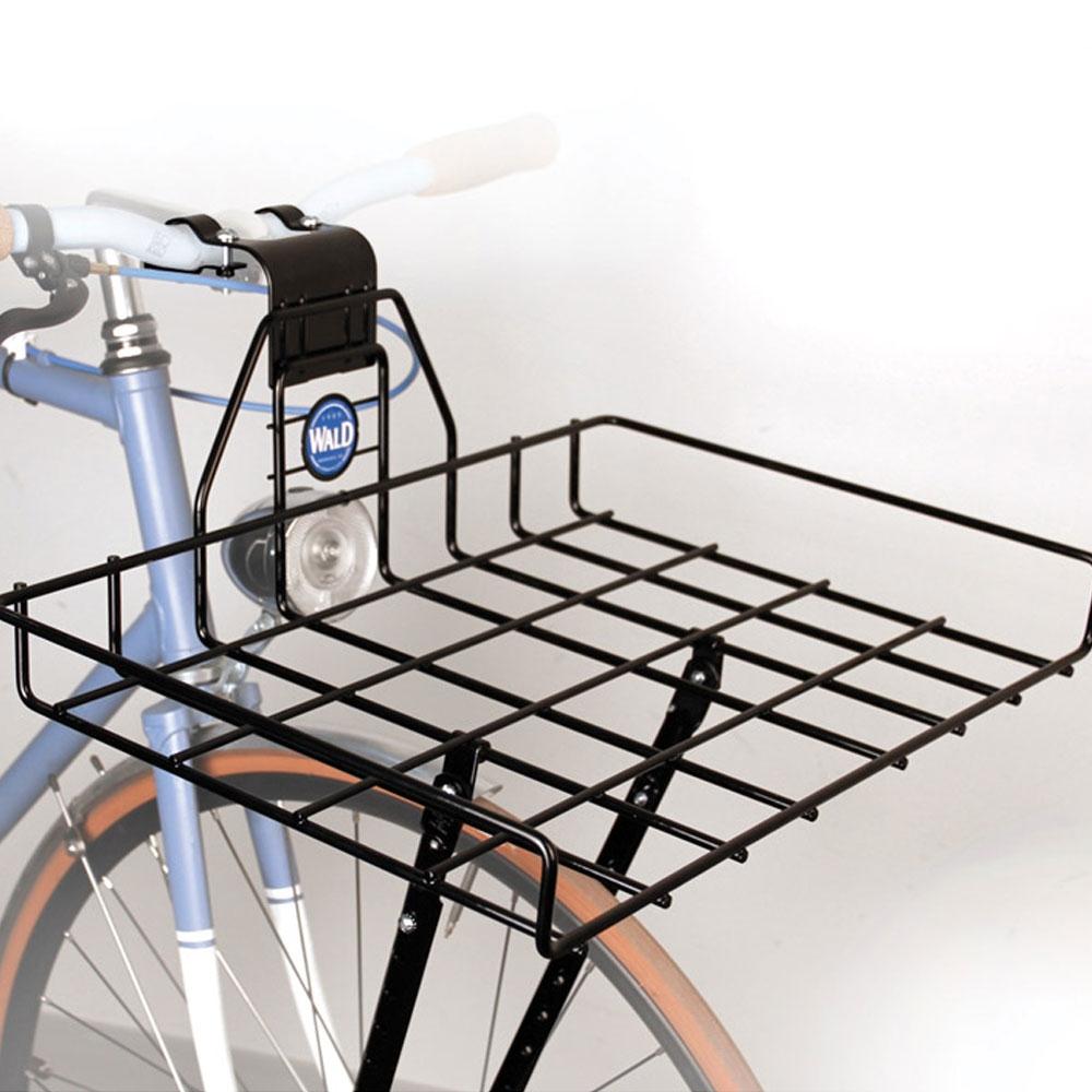 wald 257 ewald 39 s multi fit front rack gloss black from bike bling. Black Bedroom Furniture Sets. Home Design Ideas