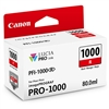Canon PFI-1000 R LUCIA PRO Red Ink Tank (80ml)