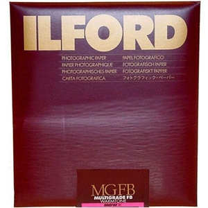 Ilford Multigrade FB Warmtone .24K Semi-Matte Paper 11x14 (10 sheets)