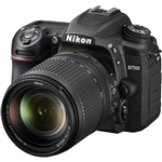 Nikon D7500 DSLR Camera with 18-140mm Lens.