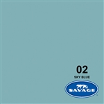 Savage Sky Blue Seamless Background 107in x 36ft