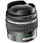 Pentax SMCP-DA 10-17mm f/3.5-4.5 IF Auto Focus Fisheye Zoom Lens
