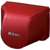 Nikon Leather Body Case Set (Red)