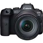 Canon EOS R6 Mirrorless Digital Camera with 24-105mm f4L Lens