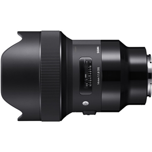 Sigma 14mm f/1.8 DG HSM Art Lens for Sony E