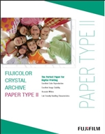 Fujifilm Fujicolor Crystal Archive Type II Glossy Paper (8x10, 100 Sheets)