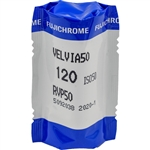 FUJIFILM Fujichrome Velvia 50 Professional RVP 50 Color Transparency Film (120 Roll Film