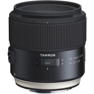 Tamron SP 35mm f/1.8 Di VC USD Lens for Canon EF