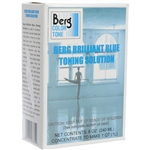 Berg Toner for Black & White Prints - Brilliant Blue/ Makes 1 Quart