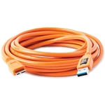 TETHER,CABLE USB3-MIC-B 5P ORG