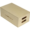 APPLE BOX HALF 12X4X20in