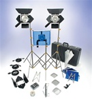 500W LOWEL OMNI 3 LIGHT KIT