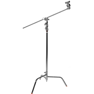 "C STAND 40"",BASE,EXT.ARM W/GRIP HEAD"