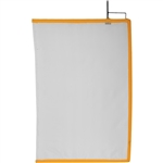Matthews 2x3ft Open End Scrim White Artificial Silk