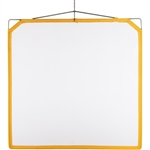 Matthews 4ft square Solid Frame White Scrim