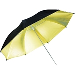 Savage Black/Gold Umbrella 43in.
