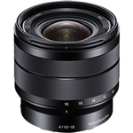 Sony 10-18mm f/4 OSS E-Mount Wide-Angle Zoom Lens
