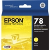 Epson 78 Claria Hi-Definition Yellow Ink Cartridge