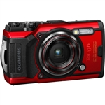Olympus Tough TG-6 Digital Camera (Red)
