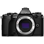 Olympus OM-D E-M5 Mark II Mirrorless Micro Four Thirds Digital Camera (Body, Black)