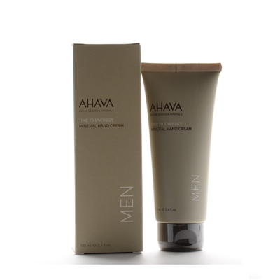 AHAVA Time To Energize Mineral Hand Cream 100ml / 3.4oz