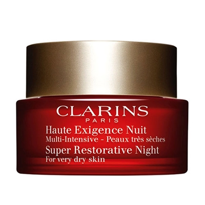 Clarins Super Restorative Night For Very Dry Skin 1.6oz /...