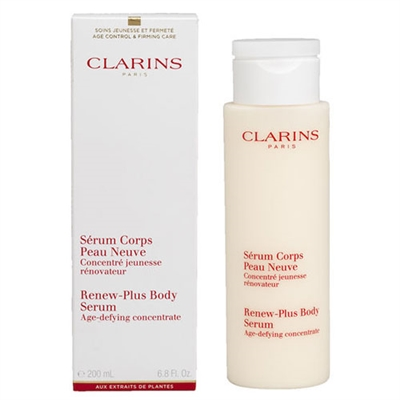 Clarins Renew Plus Body Serum 6.8 oz / 200ml