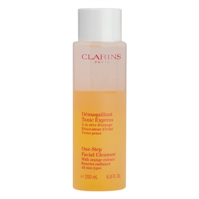 Clarins One Step Facial Cleanser with Orange Extract 6.8 ...