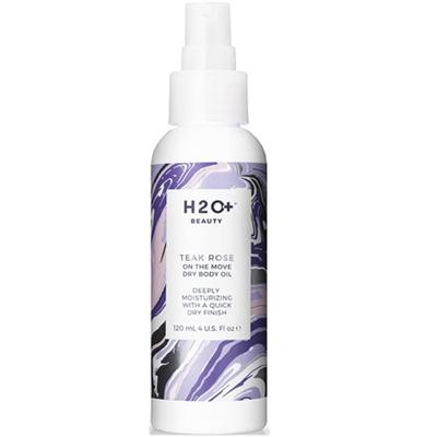 H2O Plus Teak Rose On The Move Dry Body Oil 4oz / 120ml