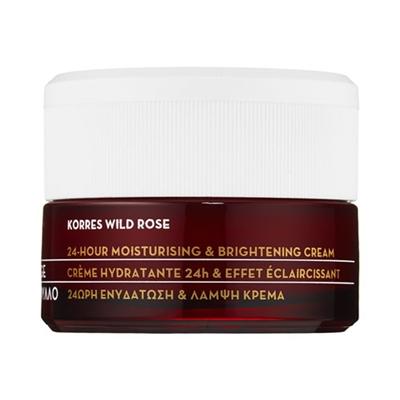 KORRES Wild Rose Brightening 24-Hour Moisturizer All Skin...