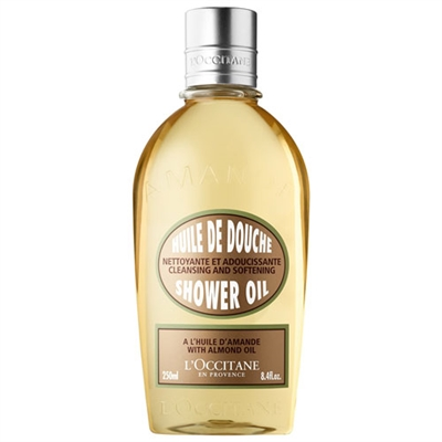 L'Occitane Cleansing and Softening Shower Oil With Almond...