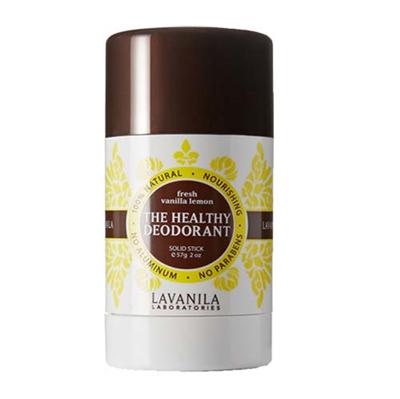 Lavanila The Healthy Deodorant Fresh Vanilla Lemon Solid ...