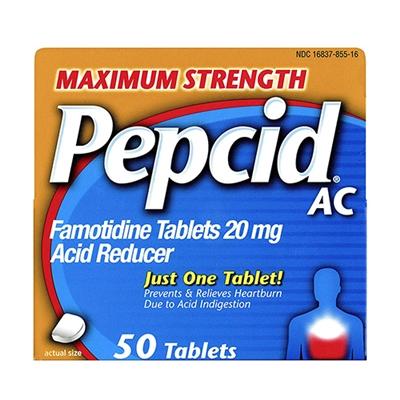 Pepcid AC Maximum Strength Acid Reducer 50 Tablets