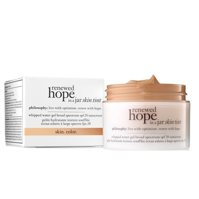 philosophy Renewed Hope In A Jar Skin Tint 7.5 Honey 1oz ...