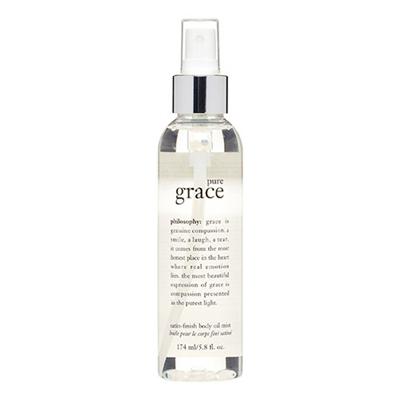 philosophy Pure Grace Satin Finish Body Oil Mist 5.8 oz