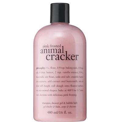 philosophy Pink Frosted Animal Cracker Shower Gel 16 oz /...
