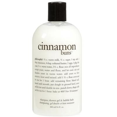 philosophy Cinnamon Buns Shampoo Shower Gel and Bubble Ba...