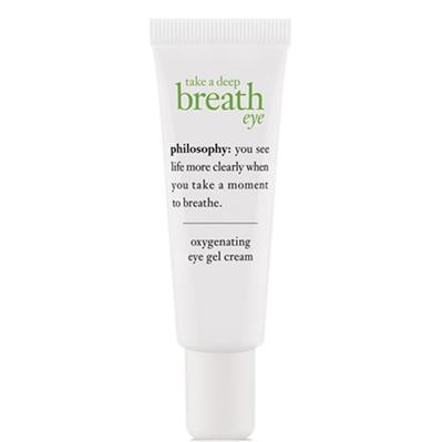 philosophy Take A Deep Breath Eye Oxygenating Eye Gel Cre...