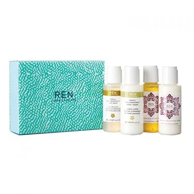 RealNetworks Clean Skincare Mini Body Kit 4 Piece Set