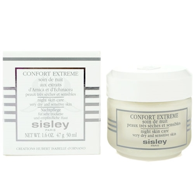 Sisley Confort Extreme Night Skin Care Dry and Sensitive ...