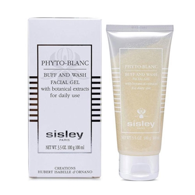 Sisley Phyto Blanc Buff and Wash Facial Gel Tube 3.5 oz /...