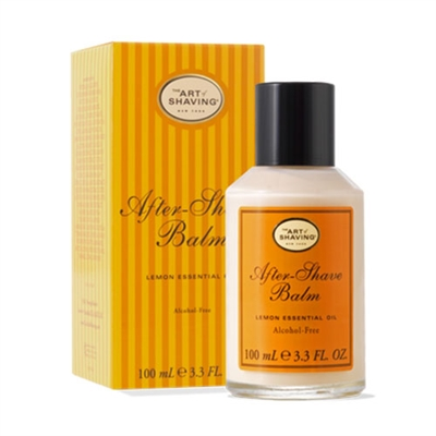 The Art of Shaving After-Shave Balm Lemon Essential Oil A...