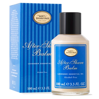 The Art of Shaving After-Shave Balm Lavender Essential Oil