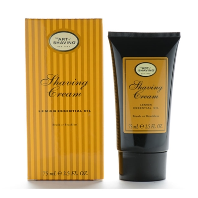 The Art of Shaving Shaving Cream Lemon Essential Oil