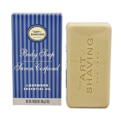 The Art of Shaving Body Soap Lavender Essential Oil 7.0oz...