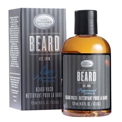 The Art of Shaving Beard Wash Peppermint Essential Oil 4....