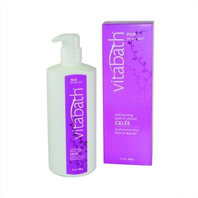 Vitabath Plus For Dry Skin Moisturizing Bath and Shower G...
