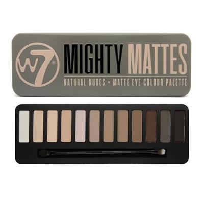 W7 Mighty Mattes Natural Nudes Matte Eye Colour Palette 0...