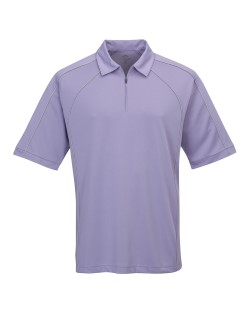Tri-Mountain 009 Mens Hornet 1/4 Zip Piped Polo Shirts